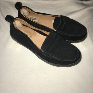 Suede Ugg Loafers